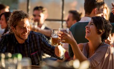 Crescimento do consumo de cerveja