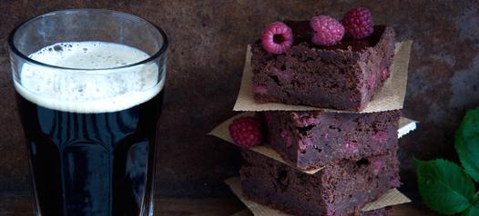 Brownies com cerveja